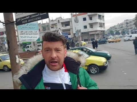 Zu Fuss durch Homs Februar 2018