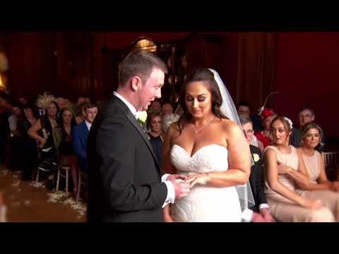 Katie & Michael wedding video highlights | Thornton Manor