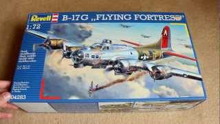 [Revell] B-17 Flying Fortress | Unboxing