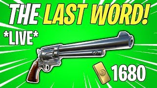 LAST WORD REVOLVER! Weekly / Event Store Update LIVE | Fortnite Save The World Livestream