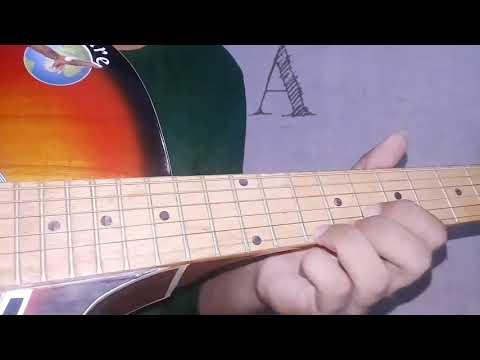 Romio and Juliet || Iddarammayilatho Movie`s `Violin song` in Guitar.