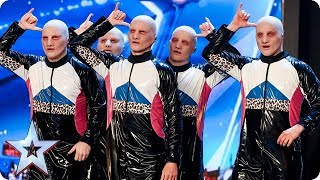 Could ALIENS win BGT? Baba Yega are out of this world! | Auditions | BGT 2018