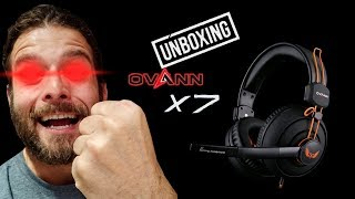 unboxing Ovann X7 Professional Gaming Headsets  Pumpum Store Coming Soon