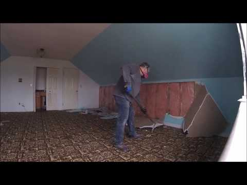 DIY Drywall Strip Out 3000 sq House  Live Action