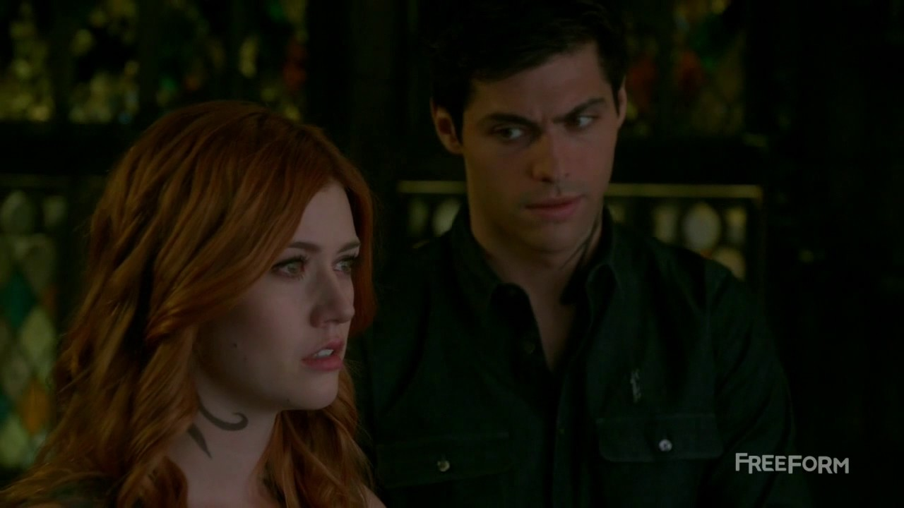 """Download Shadowhunters 2x04 """"Clary Sees Alec Killing her Mom"""" Scene Season 2 Episode 4"""