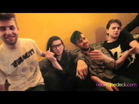 Interview with Skrillex, Zeds Dead and The Killabits after an insane show at Club Soda in Montreal