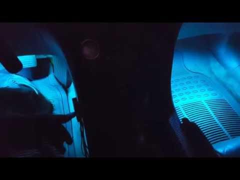 LEDGLOW 4pc 7 COLOR LED INTERIOR LIGHT KIT REVIEW