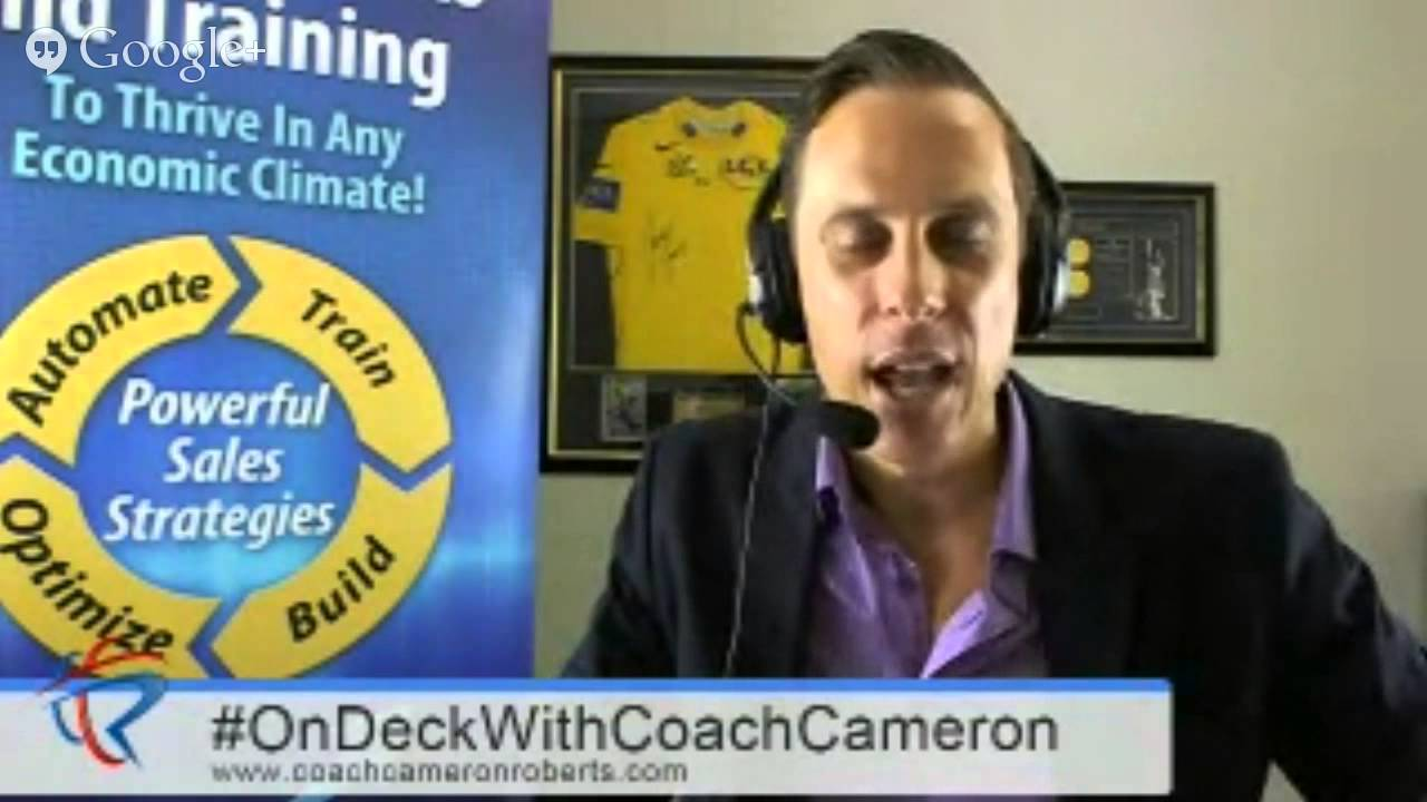 #OnDeckWithCoachCameron Ep2: 7 Steps to Dominating Your Target Market or Industry