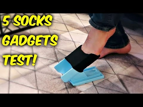 Download Youtube: 5 Socks Gadgets put to the Test!
