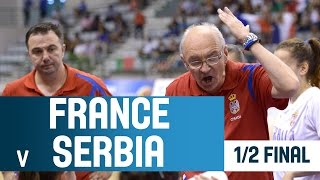 France v Serbia – 1/2 Finals – 2014 U18 European Championship Women