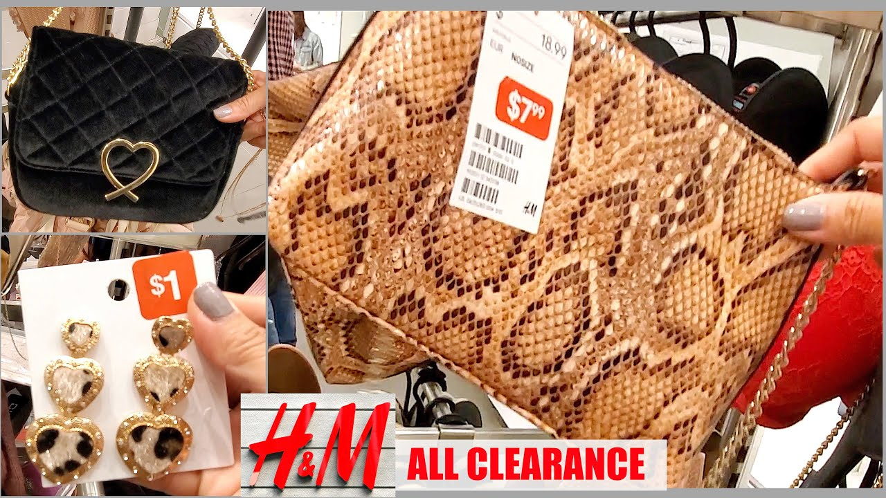 closer at a few days away 2018 sneakers H&M HUGE SALE | BAGS AND ACCESSORIES | FROM $1 - YouTube
