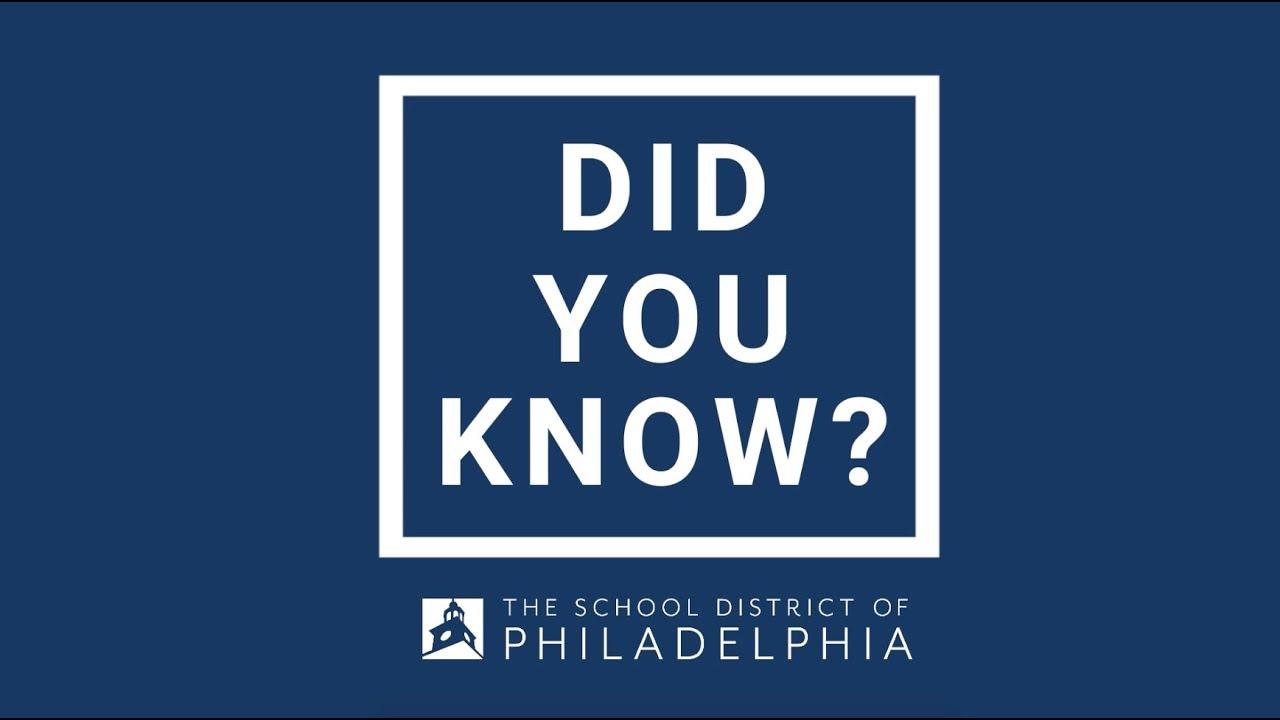 The School District of Philadelphia – Philly Elementary
