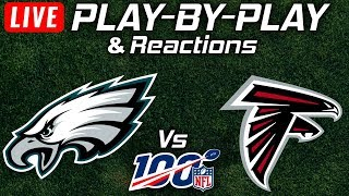 Eagles vs Falcons   Live Play-By-Play & Reactions