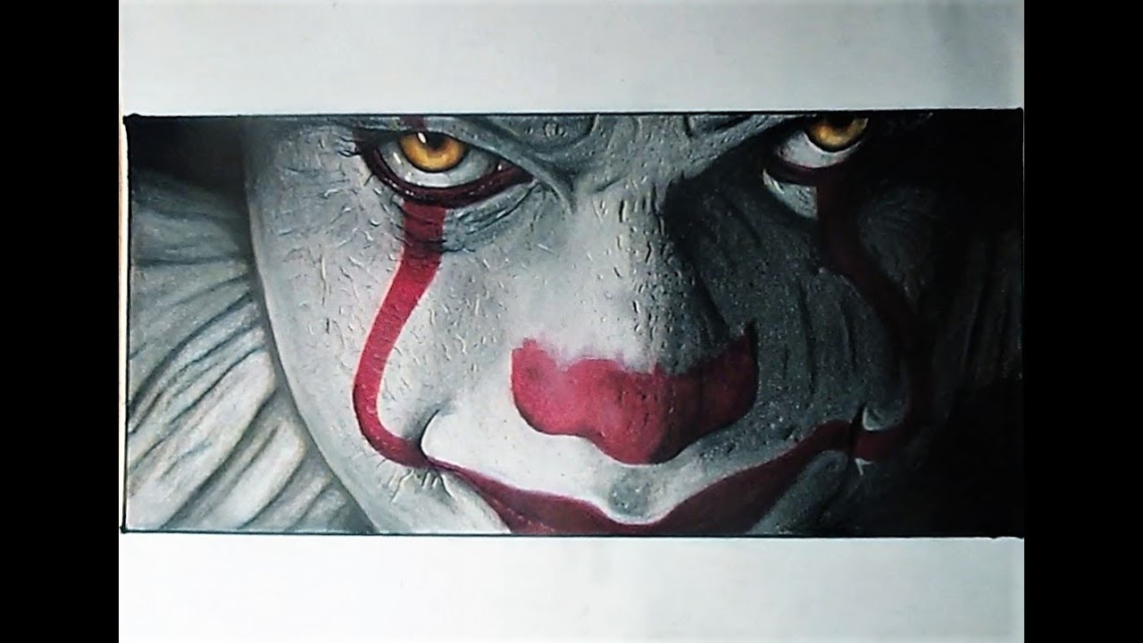 How To Draw Realistic Pennywise It