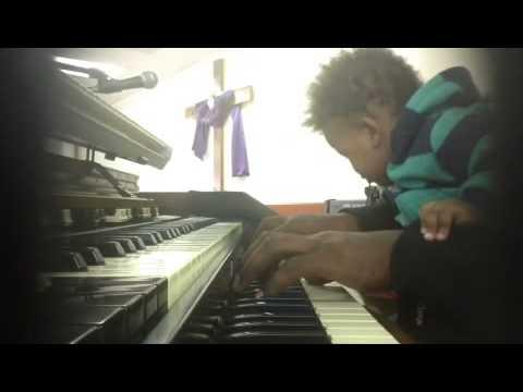 Hammond Organ with Son!