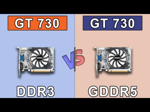 GT 730 (DDR3) vs GT 730 (GDDR5) | New Games Benchmarks
