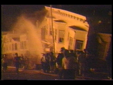 News - Part 2 - San Francisco Earthquake - NBC - 17 Oct 1989