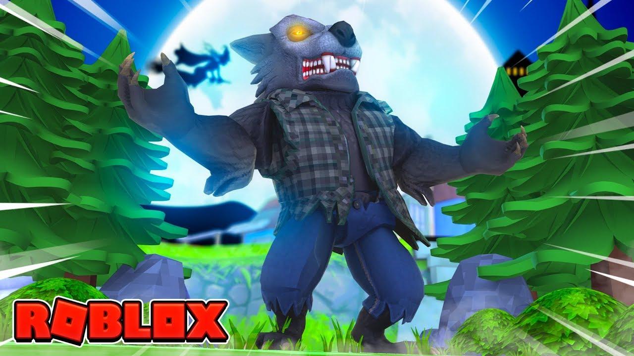Roblox Night Of The Werewolf Escape The Werewolf Youtube