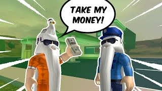 BRIBING COPS IN NEW JAILBREAK UPDATE AND ROBBING GAS STATIONS!? | Roblox