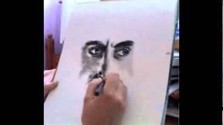 Drawing Tom Felton (As Draco)