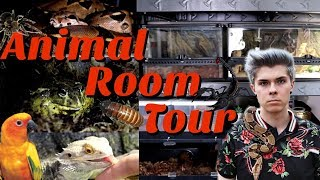 ANIMAL ROOM TOUR *Updated* | Tyler Rugge