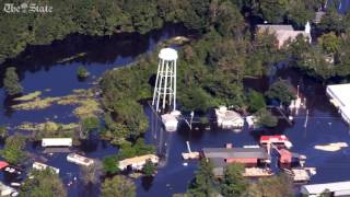 Nichols and areas along the Pee Dee River are flooded