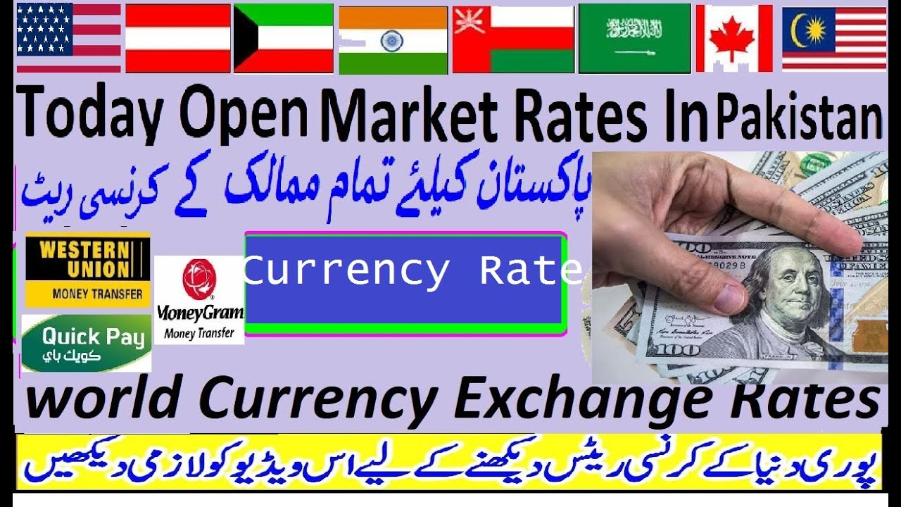 Currency Exchange Rate Dollar To Pkr