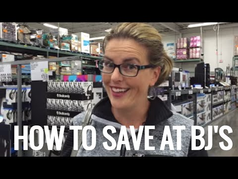 HOW TO SAVE AT BJ'S!