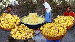 Wow Yummy Chicken Maggi Noodles !!!  Maggi Masala Noodles Recipe With Chicken | Grandpa kitchen