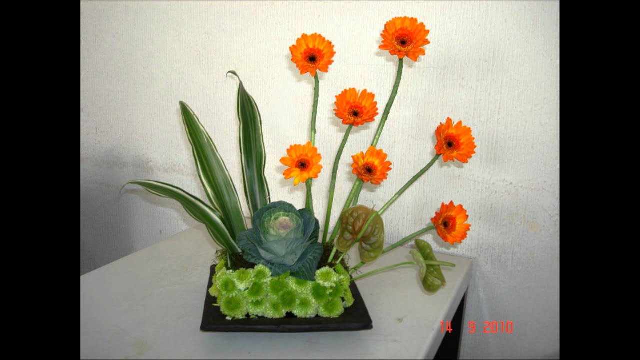 Arreglos Florales Youtube
