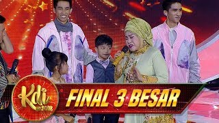 Ina Situbondo Kepengen Duet Sama Umi Elvi  Bulan Di Ranting Cemara  - Final 3 Be