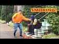 No Smoking Prank!