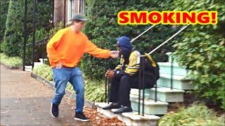 No Smoking Prank!