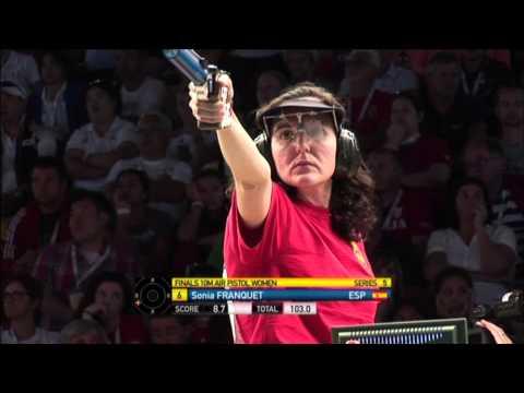 Чемпионат мира, пневматический пистолет, женщины