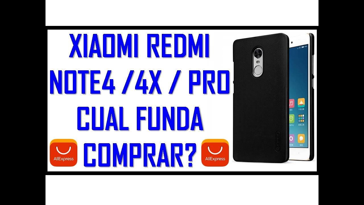 05e067e8f21 Que funda compro para mi Redmi Note 4 ?? - YouTube