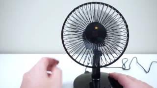 Akaigu Oscillating Fan 2 Speed 6 Inch USB Desk Fan Review
