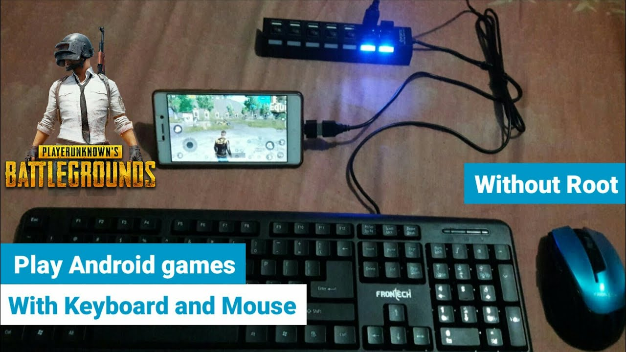 Play mobile games with keyboard and mouse | No Root | AshTech Galaxy