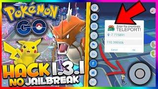 *NEW* POKEMON GO HACK 1.3.1 UPDATED! NO JAILBREAK! Teleport/Tap To Walk (BEST Pokemon Go 1.3.1 HACK)