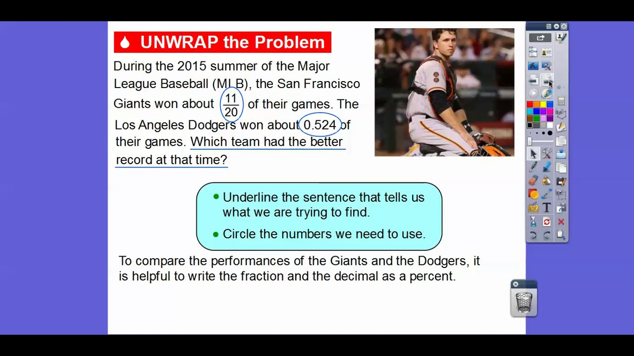 Write Fractions and Decimals as Percents - Lesson 5.3 - YouTube