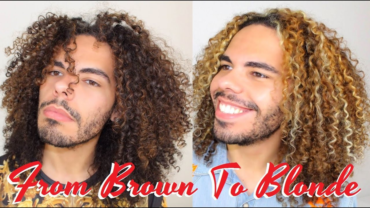 Vlog part 2 how to dye bleache natural curly hair blonde vlog part 2 how to dye bleache natural curly hair blonde highlights color on naturally curls youtube pmusecretfo Choice Image