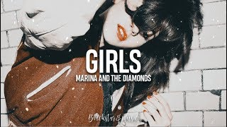 Girls || Marina and the Diamonds || Traducida al español + Lyrics