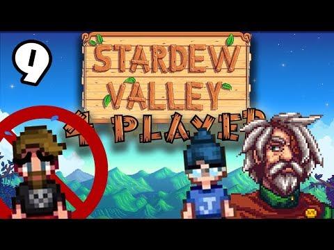 Exclusive Club - #9 -Stardew Valley Multiplayer BETA! (4-Player Gameplay)