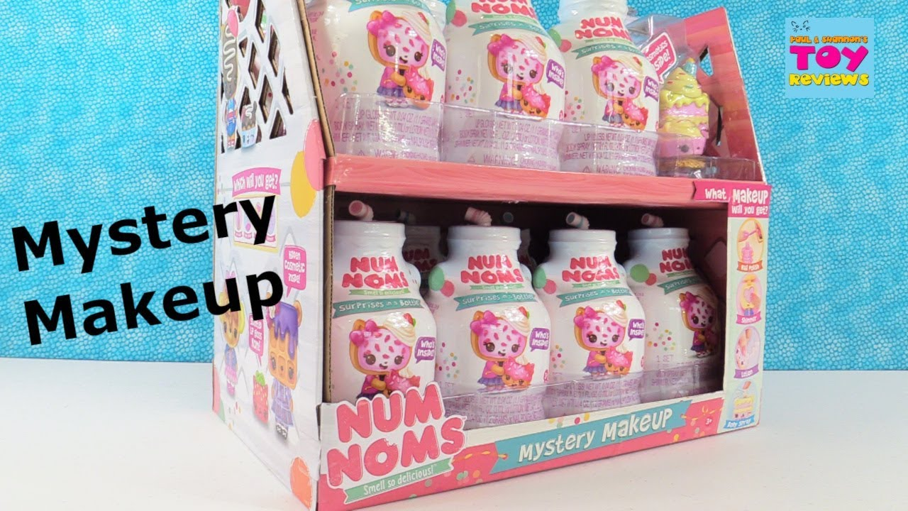 Num Noms Mystery Makeup Blind Box Figures Opening Toy