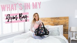 What's in My Gym Bag | Beauty, Snacks & Essentials Fall '17