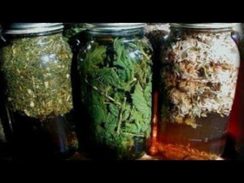 Рецепт Как сделать Масло на Травах  как приготовить настоять масло на Травах / Масляный инфуз