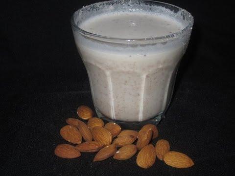 Como hacer leche de almendras - Receta facil