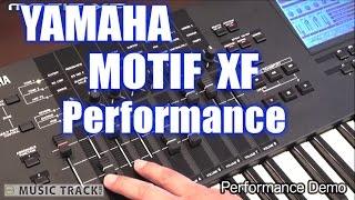YAMAHA MOTIF XF #1 Demo&Review [English Captions]