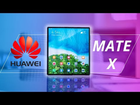 I spent 2 hours with the Huawei Mate X!