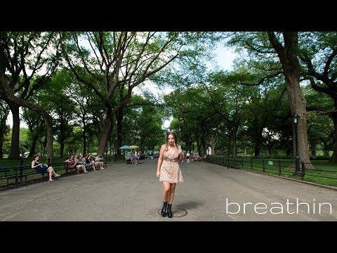 Ariana Grande - breathin - Cover by Ali Brustofski (Acoustic) (breathing)
