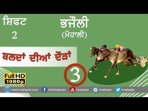 BHAJAULI (Mohali) ● OX RACE - 2018 ● SHIFT 2nd ● बैल गाड़ी की दौड़ें بیل گاڑی کی دوڑے- ● Full HD  3